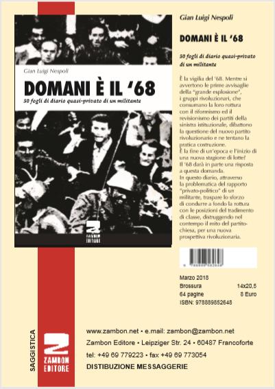 DOMANI È IL '68