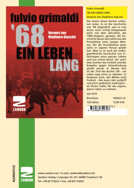 Fulvio Grimaldi '68 EIN LEBEN LANG Vorwort von Vladimiro Giacché