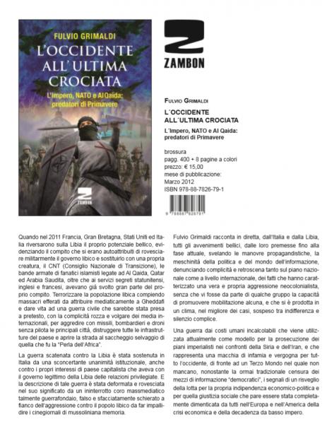 FULVIO GRIMALDI L´OCCIDENTE ALL´ULTIMA CROCIATA