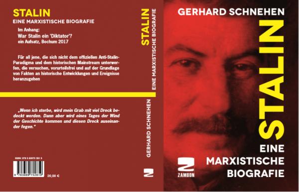 """Gerhard Schnehen: """"Stalin. Eine marxistische Biografie"""""""