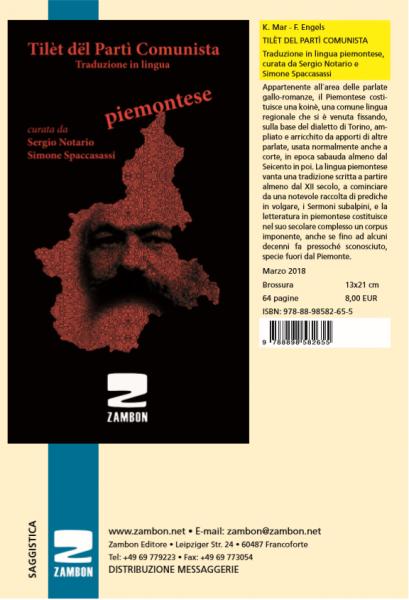 TILÈT DEL PARTÌ COMUNISTA